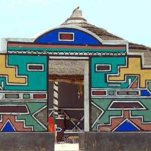 Ndebele Group Painting Creative Workshop